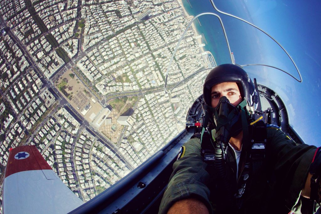 Israeli Air Forselfie